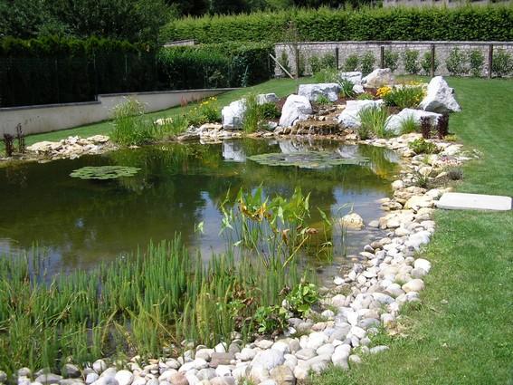 Boutet paysage for Bassin de jardin villaverde